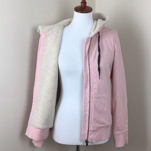 Boden pink hoodie zip jacket US size 4